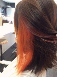 髪色も夏らしく…♪